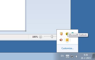 Step 1, open task bar