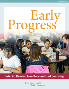 Early Progress: Interim Report on Personalized Learning