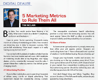 5 marketing metrics that rule them all