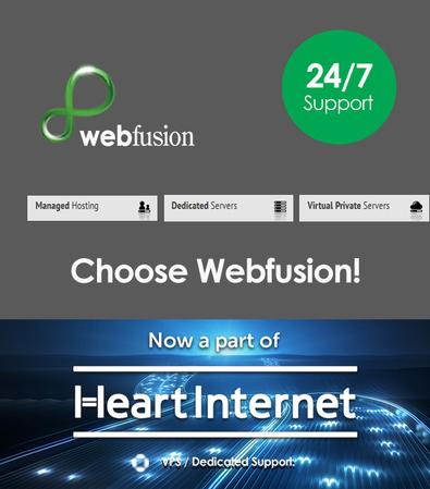 Webfusion hosting