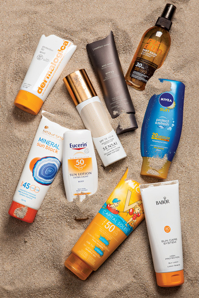Sunscreen options