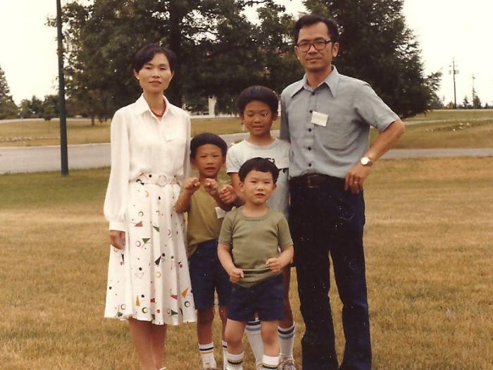 Family circa late 1970s