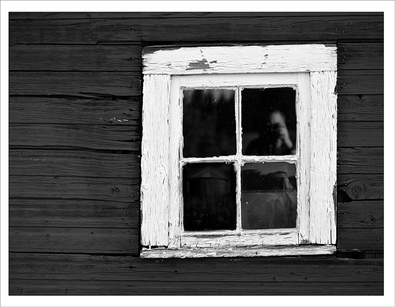 window pane image