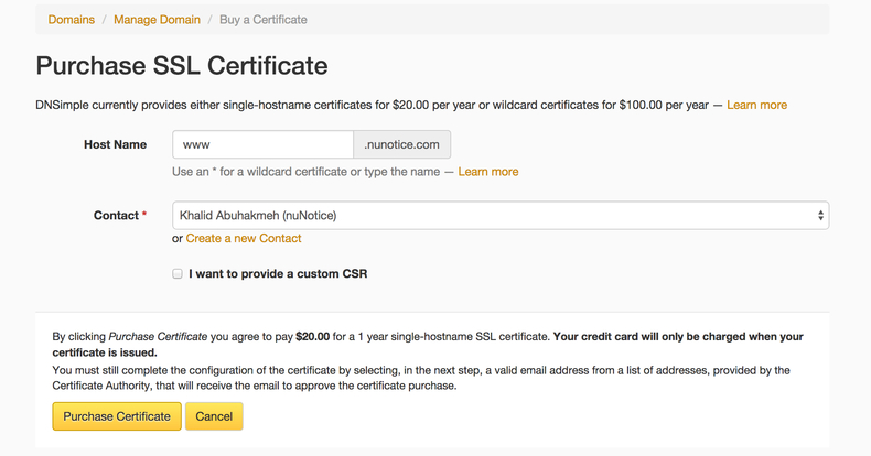 Khalid Abuhakmeh Buying And Installing Comodo Ssl Certificates On