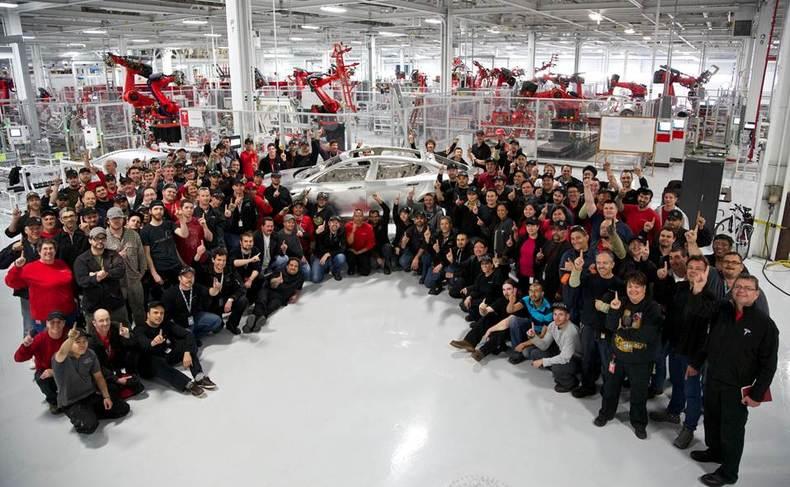 Tesla labor