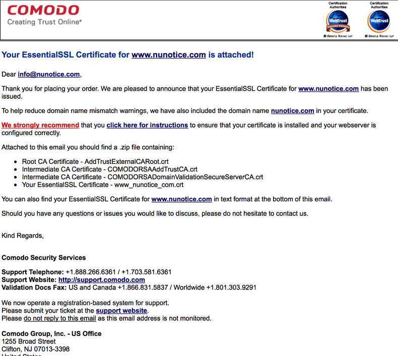 Khalid Abuhakmeh - Buying and Installing Comodo SSL