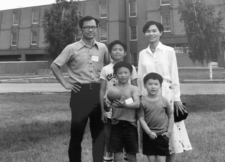 Family, circa 1980