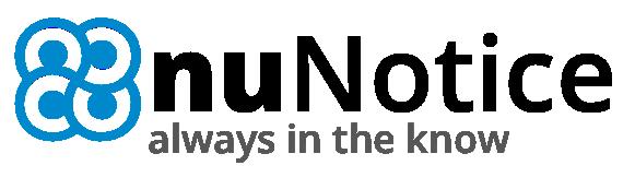 nuNotice logo