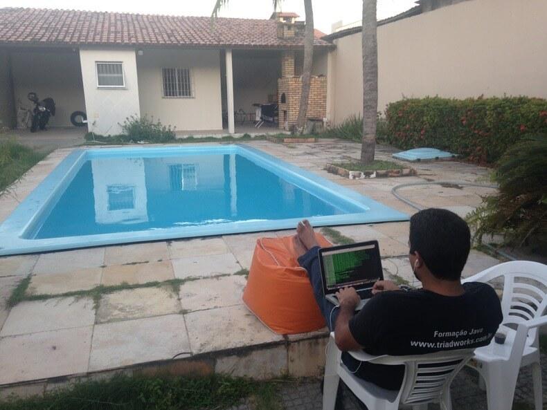 Programação: em qualquer lugar e a qualquer hora