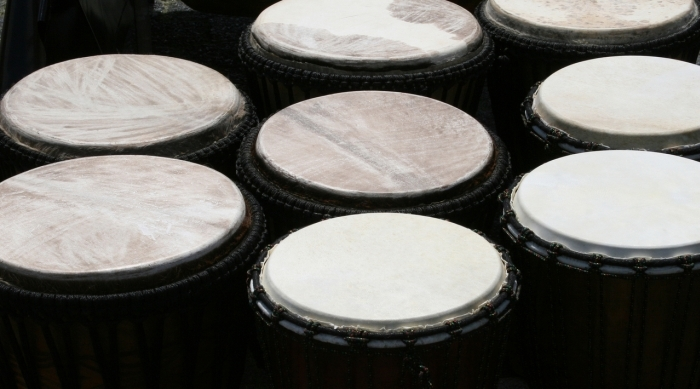 many drums