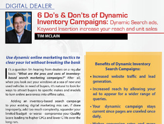 Are dynamic inventory search campaigns worth your time and investment