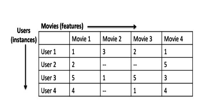 High-Dimensional Movie Rating Data