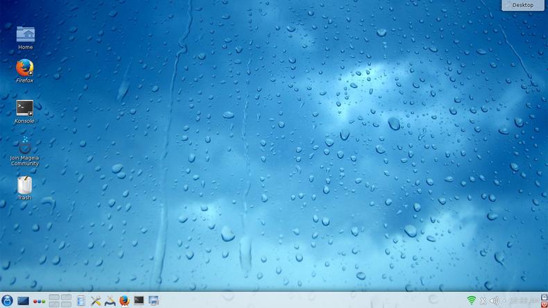 Mageia 4 desktop