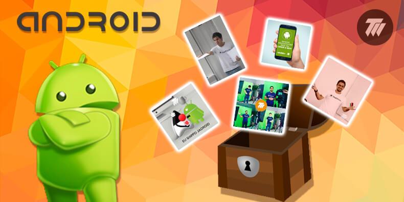 Álbum de fotos do Android