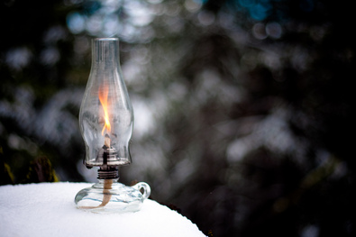oil lamp image