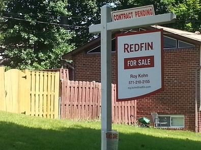 Roy's sign with Redfin