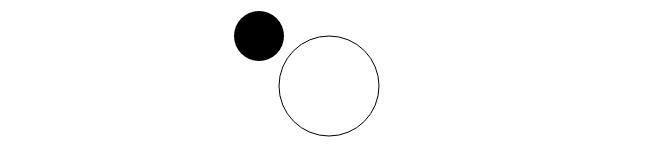 Canvas Círculos preenchimento opcional